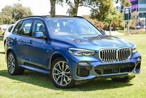 2019 BMW X5 G05 xDrive30d Steptronic M Sport Blue 8 Speed Sports Automatic Wagon Burswood Victoria Park Area Preview