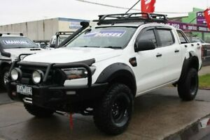 2015 Ford Ranger PX MkII XL Double Cab White 6 Speed Sports Automatic Utility Altona North Hobsons Bay Area Preview