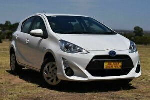 2017 Toyota Prius c NHP10R E-CVT White 1 Speed Constant Variable Hatchback Hybrid Enfield Port Adelaide Area Preview