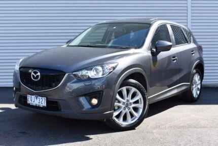 2013 Mazda CX-5 KE1071 Grand Touring SKYACTIV-Drive AWD Grey 6 Speed Sports Automatic Wagon