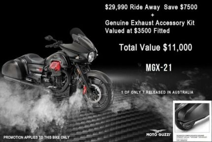 2017 Moto Guzzi MGX-21 Road Bike 1380cc Ringwood Maroondah Area Preview