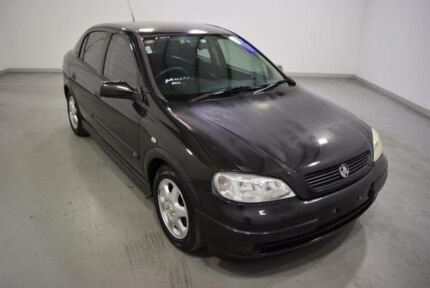 2001 Holden Astra TS City Black 4 Speed Automatic Hatchback Moorabbin Kingston Area Preview