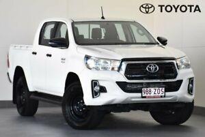 2018 Toyota Hilux GUN126R SR White Sports Automatic Kedron Brisbane North East Preview