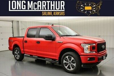 2020 Ford F-150 XL STX Sport Crew 4x4 Power Equip MSRP $48340 YNC 3 w/ 8in Touchscreen 2in Wheels 36 Gallon Fuel Tank Center Console
