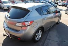 2010 Mazda 3 BL10F1 MY10 Maxx Silver 6 Speed Manual Hatchback Hyde Park Townsville City Preview