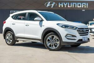 2017 Hyundai Tucson TL MY18 Active X 2WD White 6 Speed Sports Automatic Wagon Midvale Mundaring Area Preview