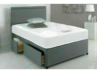 ⭐🆕BRAND NEW DIVAN BED IN ALL SIZES WITH STORAGE OPTION HEADBOARDS AND CHOICE OF MATTRESS
