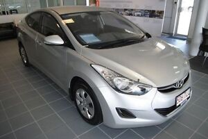 2013 Hyundai Elantra MD2 Active Sleek Silver 6 Speed Sports Automatic Sedan Townsville Townsville City Preview
