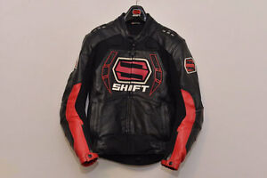 Shift Men's Octane Leather Perforated Jacket (Size Small)