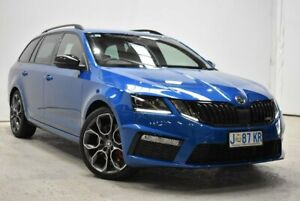 2019 Skoda Octavia NE MY19 RS DSG 245 Blue 7 Speed Sports Automatic Dual Clutch Wagon Launceston Launceston Area Preview
