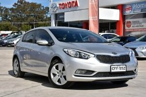 2014 Kia Cerato YD MY14 S Clear Silver 6 Speed Automatic Hatchback Gosford Gosford Area Preview
