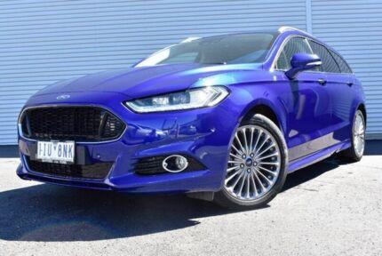 2017 Ford Mondeo MD 2017.00MY Titanium PwrShift Blue 6 Speed Sports Automatic Dual Clutch Wagon