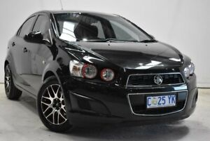 2013 Holden Barina TM MY13 CD Black 5 Speed Manual Sedan Launceston Launceston Area Preview
