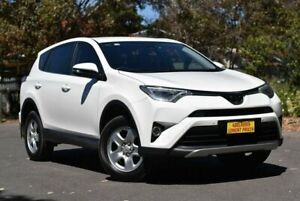 2017 Toyota RAV4 ZSA42R GX 2WD White 7 Speed Constant Variable Wagon Melrose Park Mitcham Area Preview