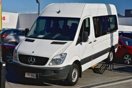 2012 Mercedes-Benz Sprinter NCV3 MY12 316CDI Low Roof MWB 7G-TRONIC Transfer White Bus