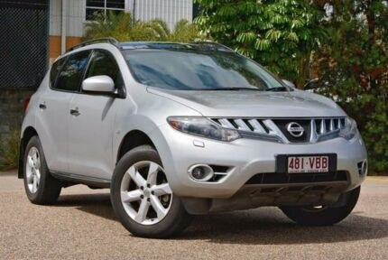 2010 Nissan Murano Z51 Series 2 MY10 TI Silver 6 Speed Constant Variable Wagon