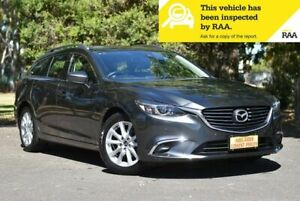 2017 Mazda 6 GL1031 Touring SKYACTIV-Drive Grey 6 Speed Sports Automatic Wagon Melrose Park Mitcham Area Preview