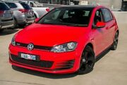 2013 Volkswagen Golf VII MY14 GTI DSG Red 6 Speed Sports Automatic Dual Clutch Hatchback Nunawading Whitehorse Area Preview