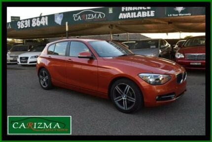 2012 BMW 118i F20 Orange 8 Speed Automatic Hatchback Toongabbie Parramatta Area Preview