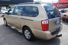 2008 Kia Grand Carnival VQ MY07 EX Evening Sailing Gold 5 Speed Sports Automatic Wagon Hyde Park Townsville City Preview