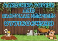 Gardening gopher and handyman