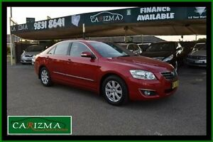 2007 Toyota Aurion GSV40R Prodigy Red 6 Speed Sequential Auto Sedan Toongabbie Parramatta Area Preview