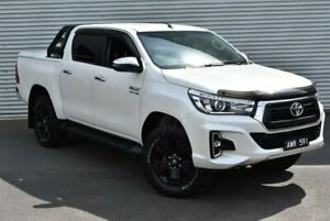 2018 Toyota Hilux GUN126R SR5 Double Cab White 6 Speed Sports Automatic Utility Epping Whittlesea Area Preview