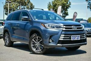 2016 Toyota Kluger GSU50R GXL 2WD Blue 8 Speed Sports Automatic Wagon Midvale Mundaring Area Preview