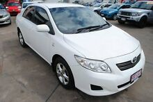 2008 Toyota Corolla ZRE152R Ascent White 4 Speed Automatic Sedan Hyde Park Townsville City Preview