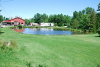 Fish farm 19 acres 7 ponds Coldwater 120 km N of Toronto