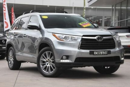 2014 Toyota Kluger GSU55R Grande AWD Silver 6 Speed Sports Automatic Wagon Castle Hill The Hills District Preview
