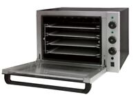 Commercial Electric Convection Oven Multi Function 4 Trays 300C 13Amp