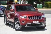 2015 Jeep Grand Cherokee WK MY15 Limited Deep Cherry Red 8 Speed Sports Automatic Wagon Southport Gold Coast City Preview