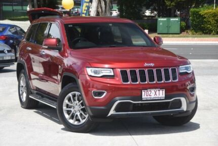 2015 Jeep Grand Cherokee WK MY15 Limited Deep Cherry Red 8 Speed Sports Automatic Wagon