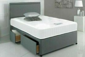 ⭐🆕FACTORY SPECIALS LUXURY DIVAN BED BASES IN ALL SIZES & COLORS READY GRAB TILL STOCK LAST