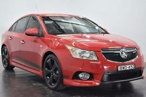 2011 Holden Cruze JH Series II SRi Red Sports Automatic Sedan Cabramatta Fairfield Area Preview