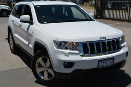 2013 Jeep Grand Cherokee WK Laredo (4x4) White 5 SP AUTOMATIC Wagon