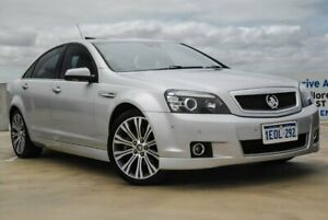 2014 Holden Caprice WN MY14 V Silver 6 Speed Sports Automatic Sedan