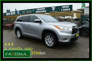 2016 Toyota Kluger GSU55R GX (4x4) Silver 6 Speed Automatic Wagon Seven Hills Blacktown Area Preview