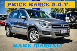2012 Volkswagen Tiguan 5N MY13 118TSI 2WD Grey 6 Speed Manual Wagon Greenfields Mandurah Area Preview