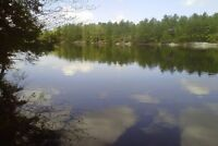 Waterfront Building Lot on Kennebec Lake