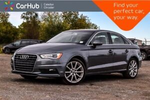 2015 Audi A3 2.0T Progressiv|Quattro|Sunroof|Bluetooth|Heated F