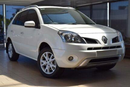 2010 Renault Koleos H45 Dynamique (4x4) White Continuous Variable Wagon
