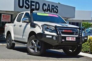2014 Isuzu D-MAX MY14 X-RUNNER Crew Cab White 5 Speed Manual Utility Yeerongpilly Brisbane South West Preview