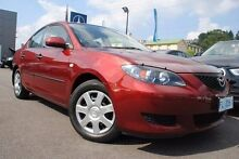 2006 Mazda 3 BK10F1 Neo Red 5 Speed Manual Sedan Launceston 7250 Launceston Area Preview