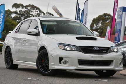 2012 Subaru Impreza G3 MY13 WRX AWD Satin White Pearl 5 Speed Manual Sedan Willagee Melville Area Preview