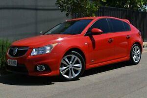 2014 Holden Cruze JH Series II MY14 SRi Z Series Red 6 Speed Sports Automatic Hatchback Brighton Holdfast Bay Preview