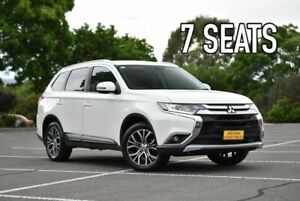 2015 Mitsubishi Outlander ZK MY16 XLS 4WD White 6 Speed Sports Automatic Wagon Enfield Port Adelaide Area Preview