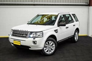 2013 Land Rover Freelander 2 LF MY13 TD4 White 6 Speed Sports Automatic Wagon Canning Vale Canning Area Preview
