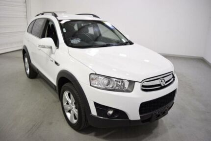 2012 Holden Captiva CG MY12 7 CX (4x4) White 6 Speed Automatic Wagon Moorabbin Kingston Area Preview